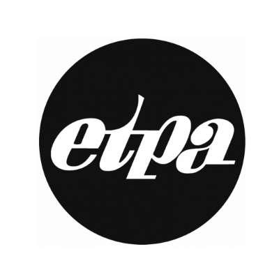 Logo Etpa Rond Carre Noir Mini